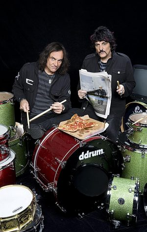 """Vinny and Carmine Appice. Agentūros """"RELAX Live!"""" nuotr."""