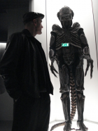 Francisco López with the Alien