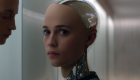 Alicia Vikander as 'Ava' in Ex Machina